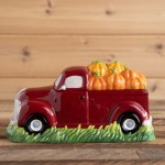 Red Truck Cookie Jar Cracker Barrel