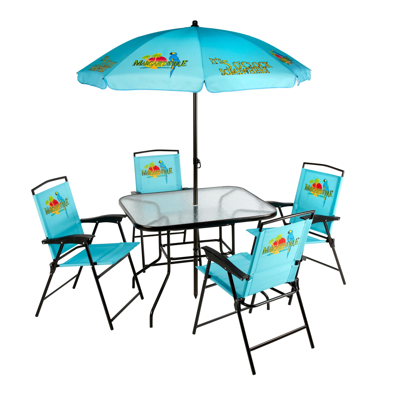 margaritaville patio dining set 6 piece