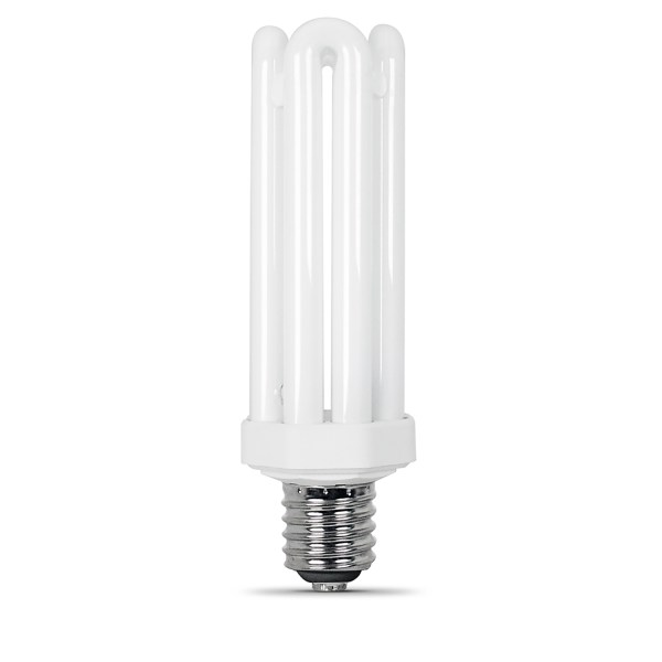 FEIT Electric 65 watts PL 3 12 in  Daylight CFL Bulb 4550 lumens     FEIT Electric 65 watts PL 3 12 in  Daylight CFL Bulb 4550 lumens Utility