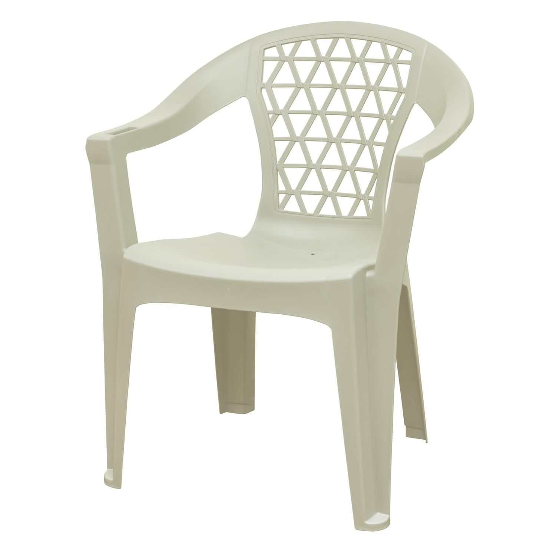 adams penza white polypropylene frame stackable chair