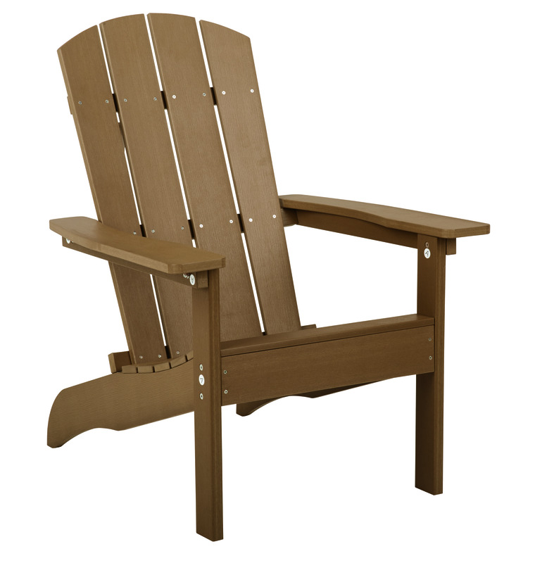 living accents sand resin frame adirondack chair