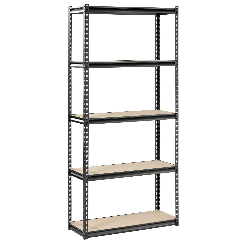 edsal muscle rack 72 in h x 34 in w x 14 in d steel shelving unit