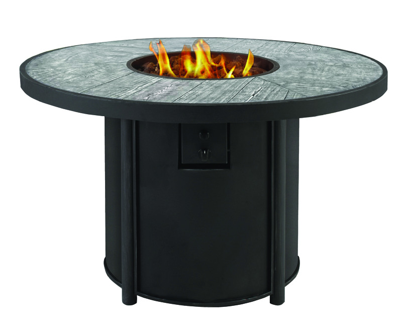 Living Accents Round Propane Fire Pit 25 in. H x 42 in. W ... on Propane Fire Pit Ace Hardware id=24065