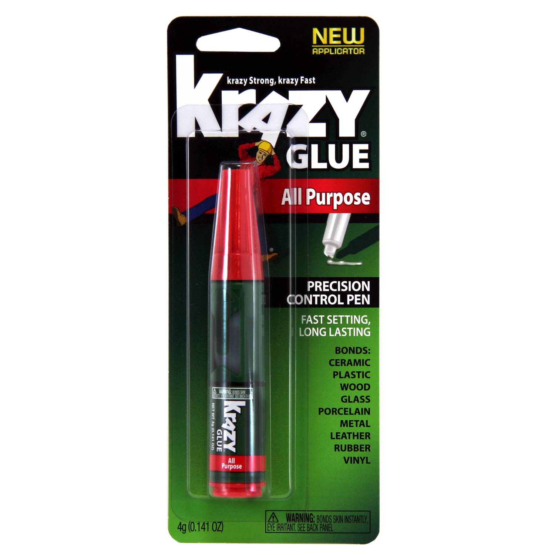 krazy glue high strength polyvinyl acetate homopolymer all purpose adhesive 0 14