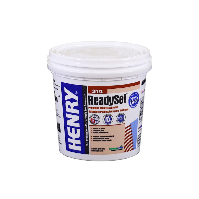 henry 314 multipurpose ceramic tile adhesive 1 qt