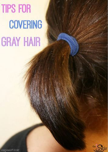 5 Easy Ways To Cover Up Those First Gray Hairs The Stir