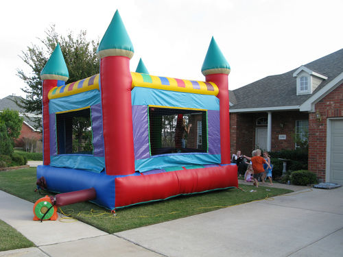Image result for Inflatable Bounce Houses istock