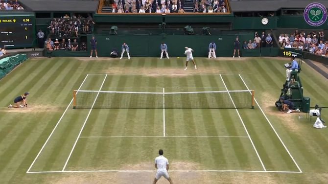 """American researchers create a truly photoralist tennis """"game"""", news and video"""
