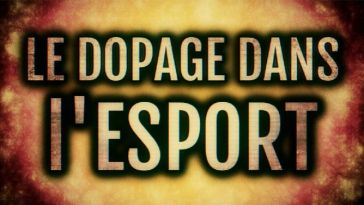 L'image du jour : Dopage dans l'eSport, sujet tabou sur un stupéfiant interdit en France