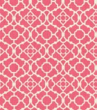 "Home Essentials Print Fabric 45""-Lovely Lattice Raspberry"
