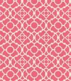 "Home Essentials Print Fabric 45""-Lovely Lattice Raspberry"