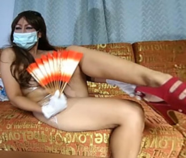 Japanese Manga Style With Foil And Rubber Gloves Thick Asian Milf