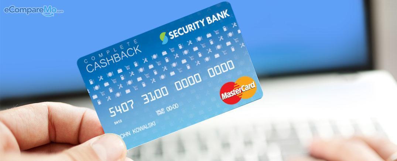 Security Bank Cash Back Card