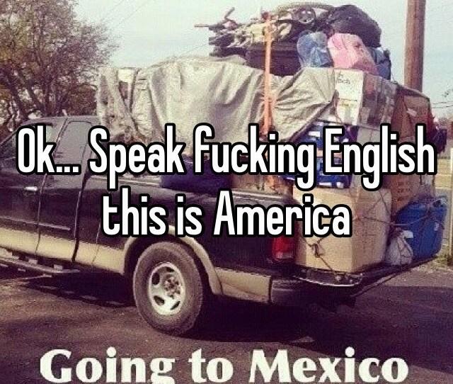 Speak Fucking English This Is America