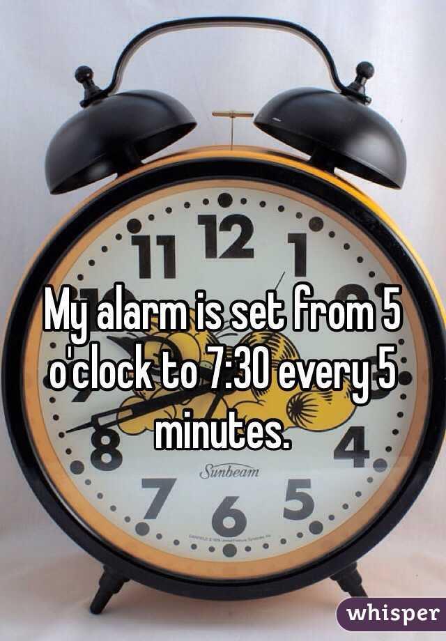alarm at 5 o clock unique alarm clock. Black Bedroom Furniture Sets. Home Design Ideas