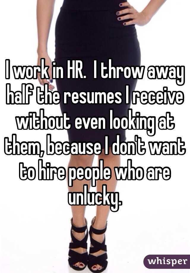 HR-ovci bacaju CV-jeve u kantu