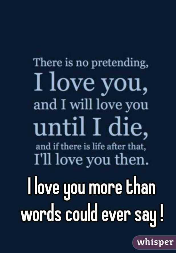 I Love You More Than Words Pictures | Wallpaper sportstle