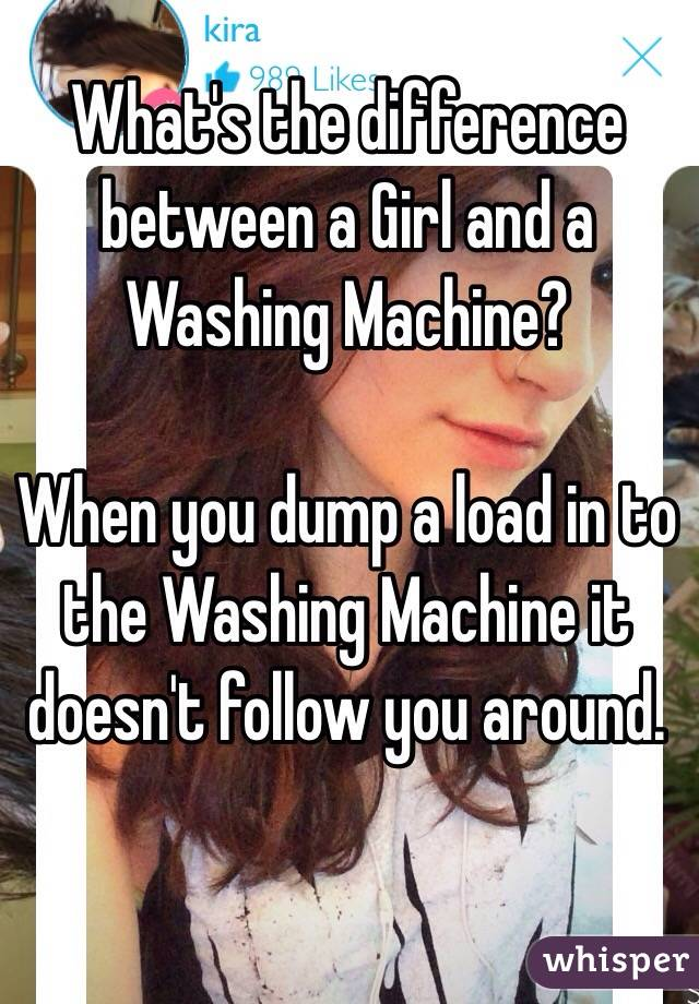 Whats Difference Between Blonde And Washing Machine