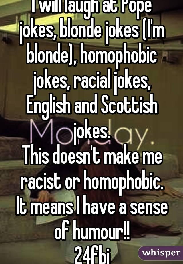 Blonde Jokes Meaning English