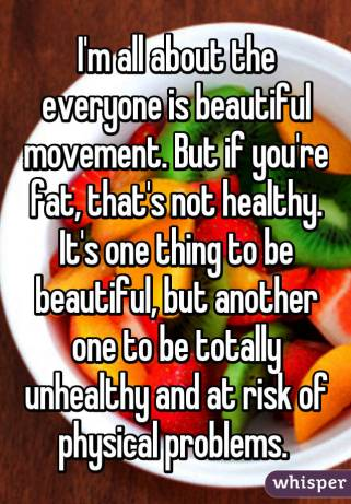 Image result for it's not healthy to be fat