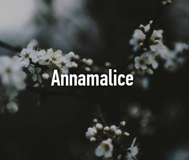 Annamalice From Somewhere