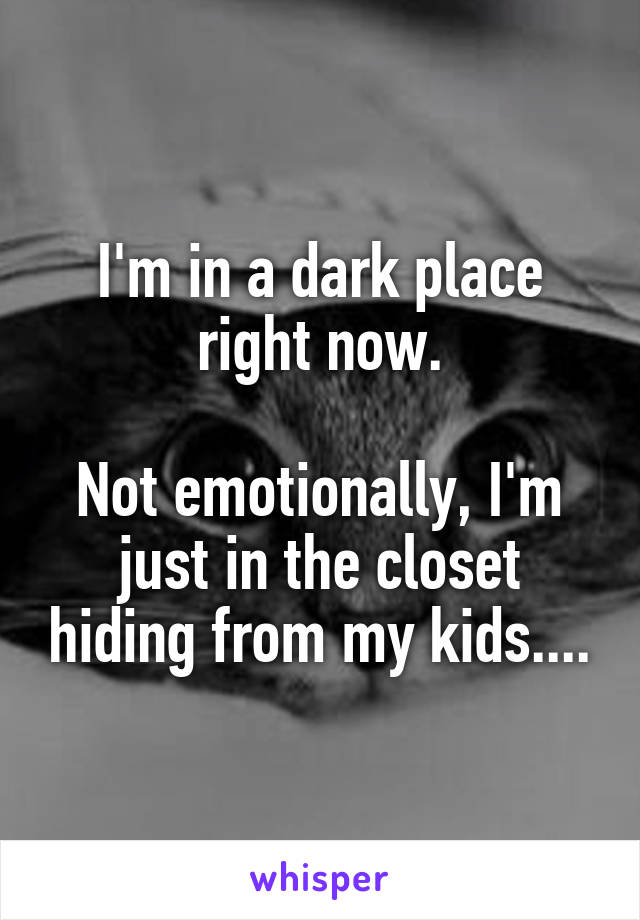 Image result for mom hiding from kids