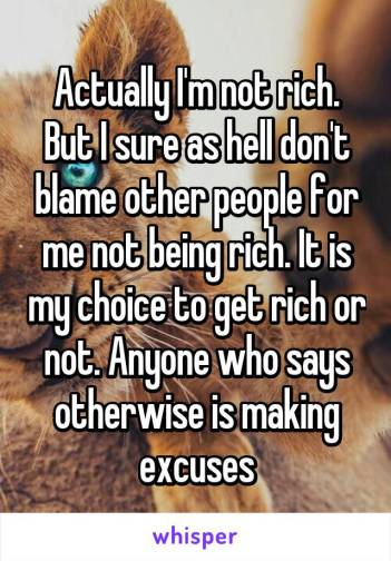 Image result for blaming the rich for being rich