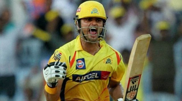On This Day: CSK's Suresh Raina scored maiden IPL century vs KXIP in Chennai   The SportsRush