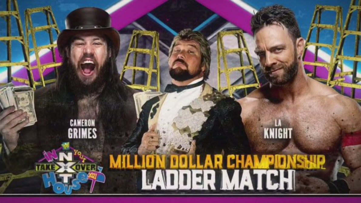 WWE announce Million Dollar Title Ladder match to NXT Takeover: In Your  House 2021   The SportsRush