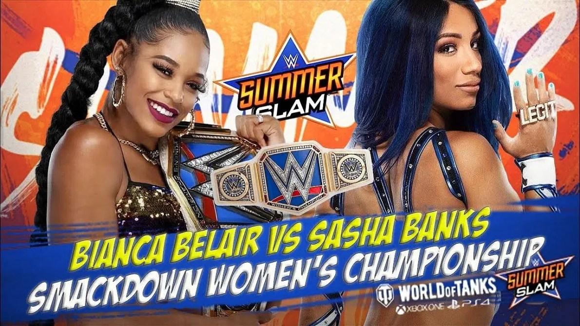 Bianca Belair vs Sasha Banks Wrestlemania rematch announced for SummerSlam  2021 | The SportsRush