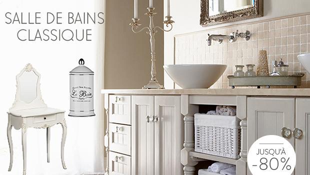 salle de bain girly elegance charme