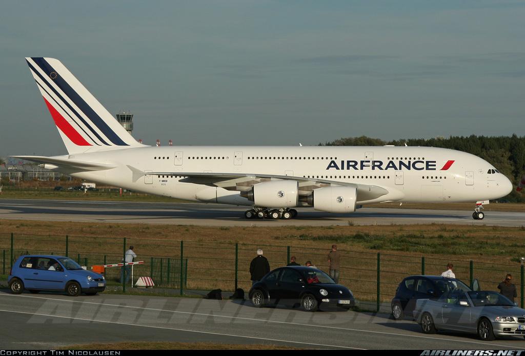 Primer A380 para Air France