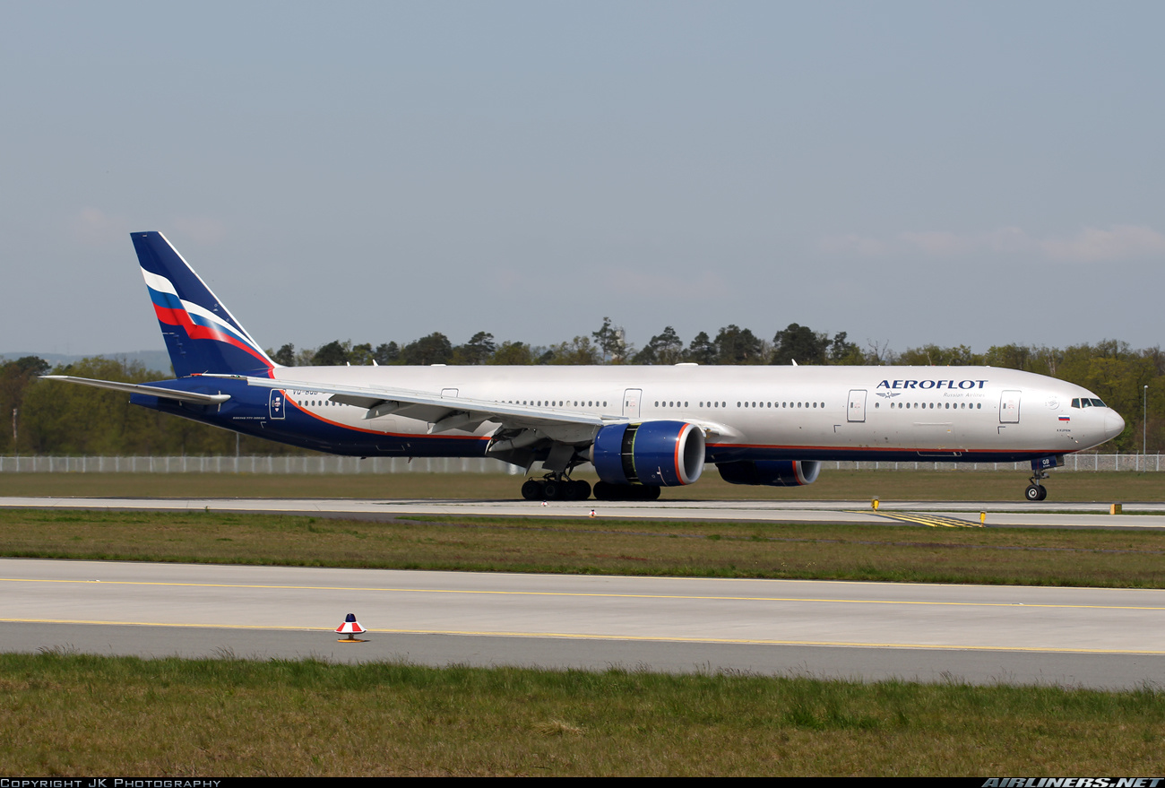 Boeing 777-3M0/ER aircraft picture