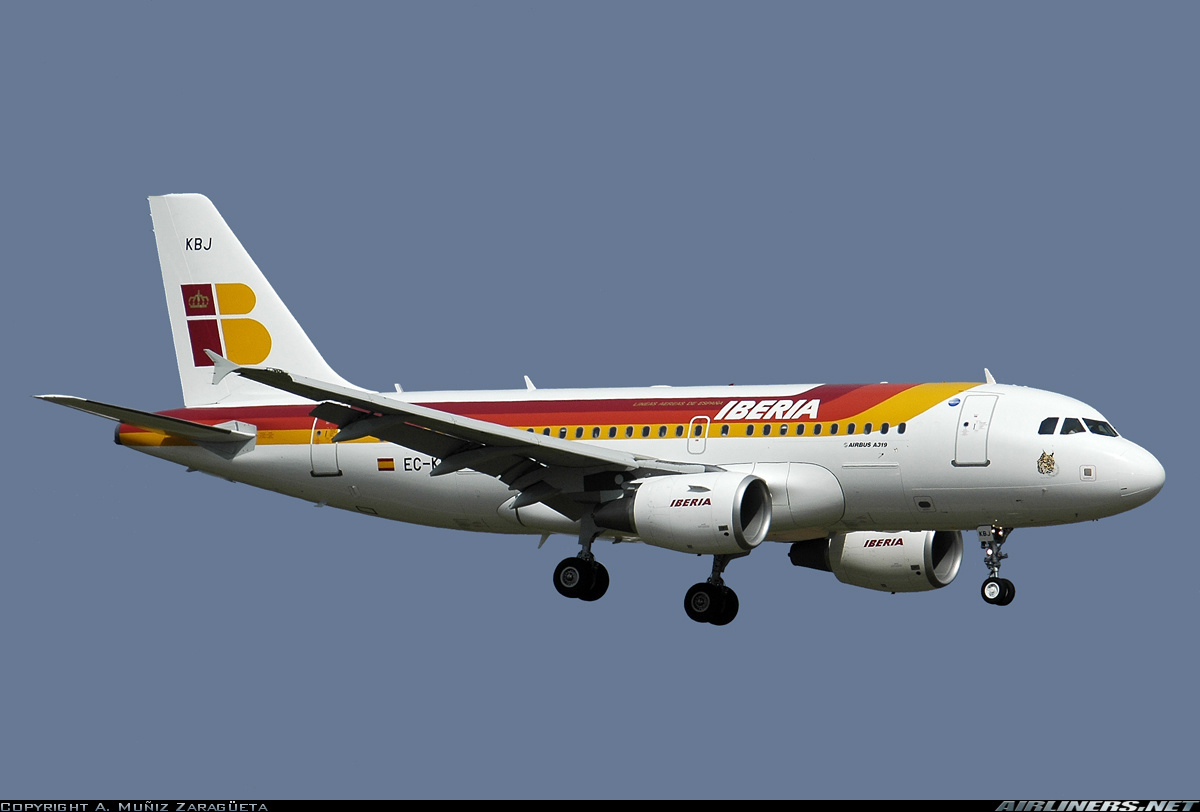 Airbus A319-111 aircraft picture