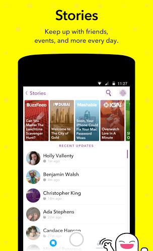 Run Snapchat app on PC 5