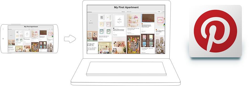 استخدم تطبيق Pinterest على أجهزة الكمبيوتر وماك مع