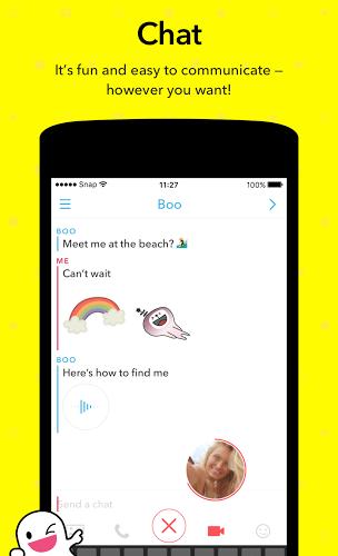 Run Snapchat app on PC 4
