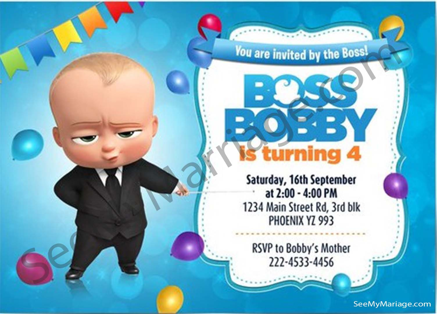 Online Birthday Invitations Maker