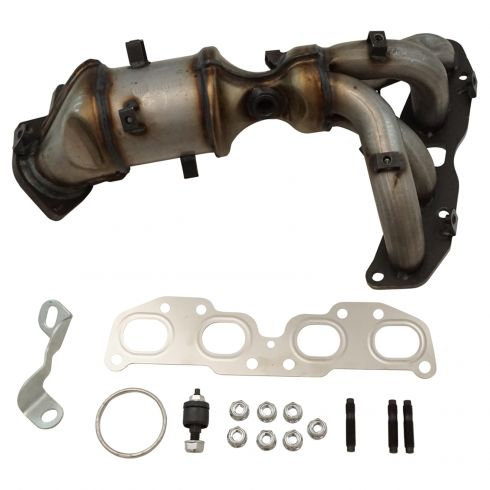 nissan altima exhaust manifold catalytic converter assembly cateran inc