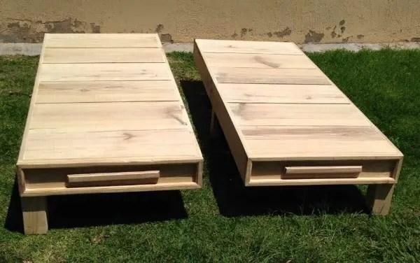 Wood Pallet Twin Bed Frame 101 Pallets