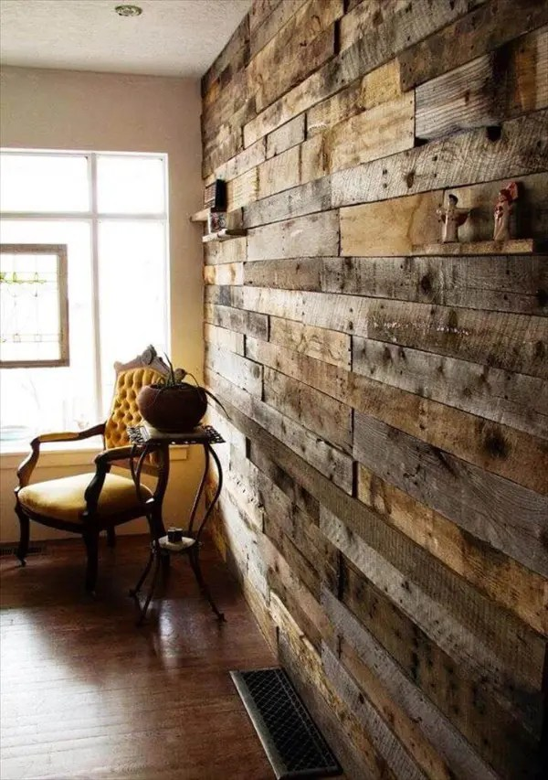 30 Easy DIY Pallet Ideas for Your Next Projects - 101 Pallets on Pallet Room Ideas  id=57260