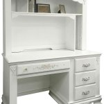 Flora White Computer Desk With Hutch 1stopbedrooms
