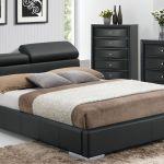 Manjot Black Queen Hidden Storage Platform Bed 1stopbedrooms