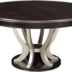 Ornette Espresso Round Dining Table 1stopbedrooms