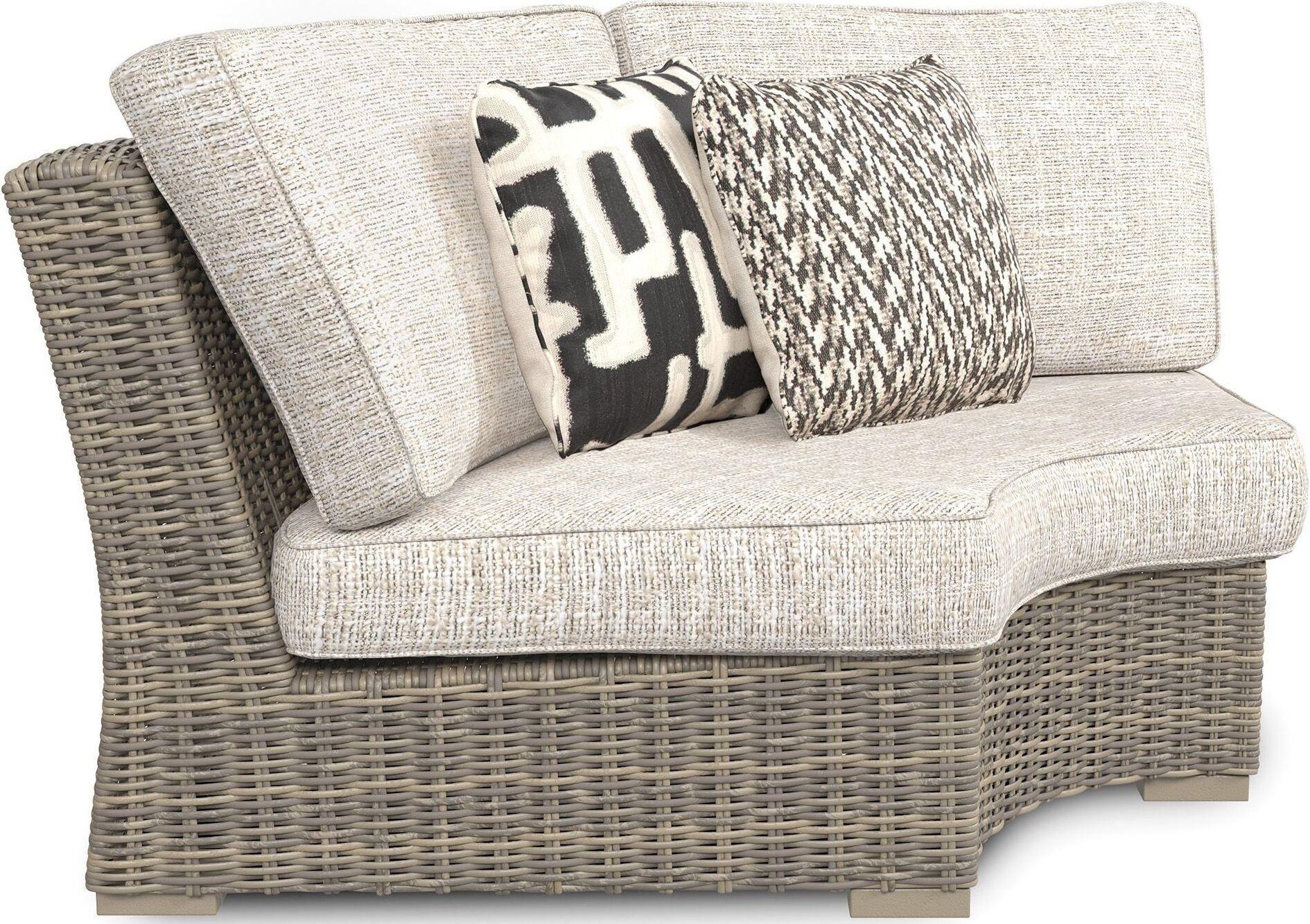 Beachcroft Beige Outdoor Sectional - 1StopBedrooms. on Beachcroft Beige Outdoor Living Room Set  id=56817