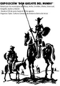 'Don Quijote del mundo' busca incentivar la lectura en la comarca Andorra-Sierra de Arcos