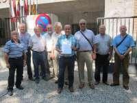 Vecinos de Vinaceite, Azaila y Almochuel entregan 900 firmas para pedir un caudal mínimo en el río Aguasvivas