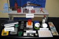 Sucesos.- Desarticulada una organización dedicada a la distribución de drogas