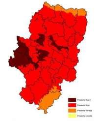 Activada la prealerta roja + por riesgo de incendios forestales en varias zonas de Aragón