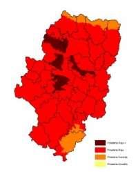 Aragón, en prealerta roja+ por riesgo de incendios forestales